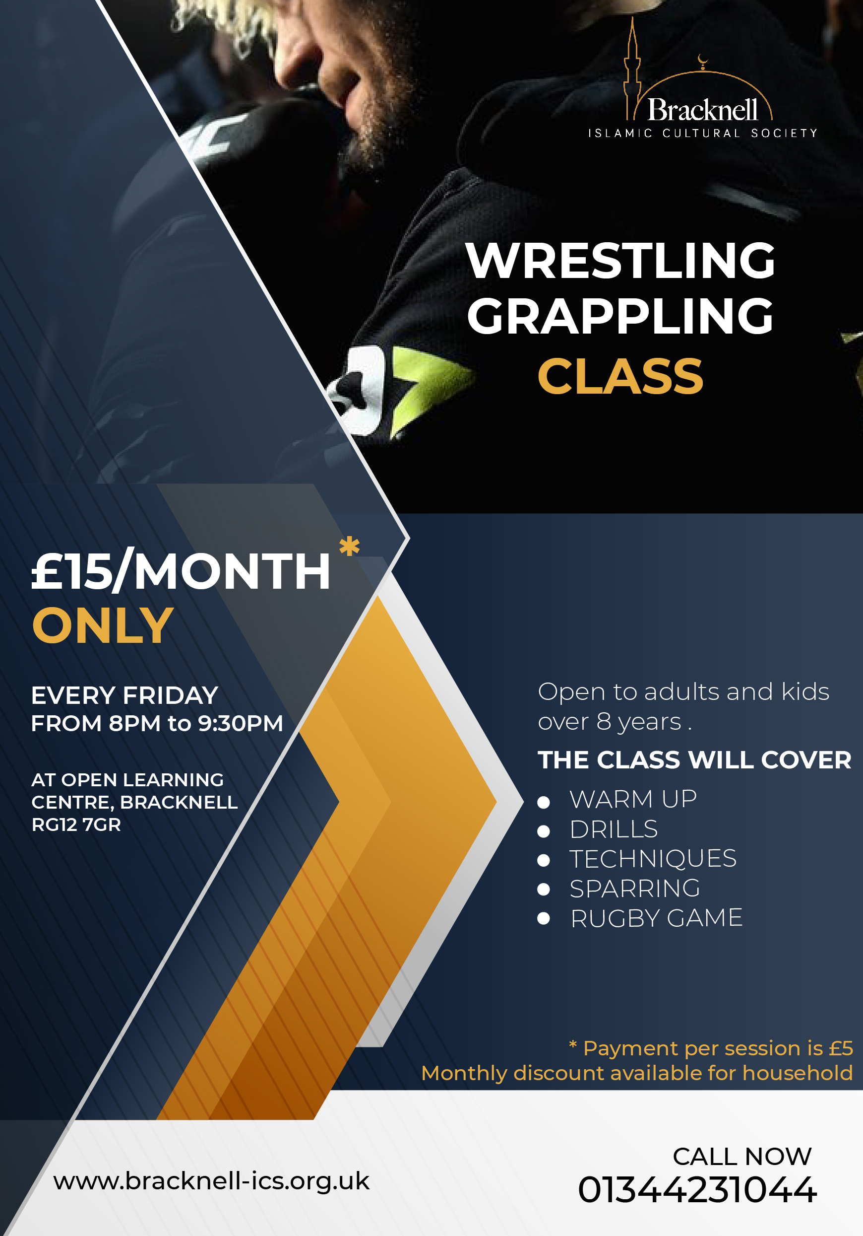 Wrestling and Grappling Class